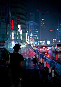 rainy day in Tokyo