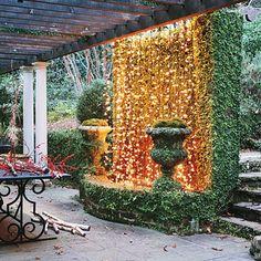Unusual Uses: Five Fresh Ideas for Christmas Lights.