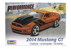 2014 Mustang GT Revell 85-4379 1/25 New Car Model Kit – Shore Line Hobby