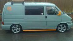 VW T4 flat grey orange bits