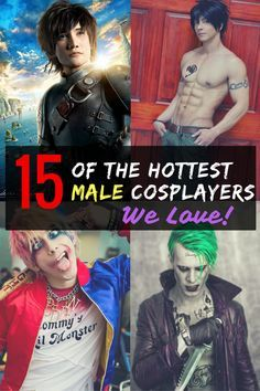 Male cosplayers are becoming bigger and bigger as the cosplay community expands. Though not as popular as their female counterparts, male cosplayers put just as much time and dedication into their craft. In no particular order, this is the TOP 15 Male Cosplayers.