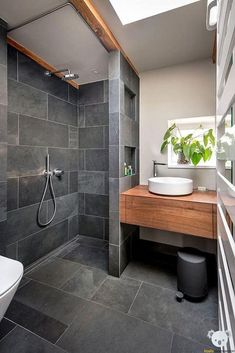 Tiny house bathroom remodels ideas are something that you need to scale your bathroom up to the next level. In this case, I have some tiny house bathroom remodel ideas that you may try to remodel your bathroom design. Bathroom Design Small, Bathroom Colors, Bathroom Interior Design, Bathroom Ideas, Bathroom Designs, Bath Design, Shower Designs, Bathroom Trends, Bathroom Organization