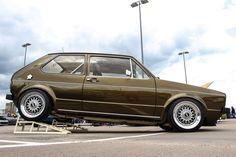 VW Golf Mk1 im Lackwahn http://www.autotuning.de/vw-golf-mk1-im-lackwahn/ Einser, Golf, Mk1, VW