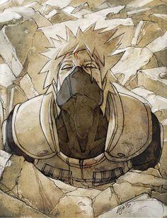 Actually I didn't want to do a serie of Hatake Kakashi . I'll do it anyway: Sensei about to die . © Original character Hatake Kakashi by Masashi Kishimoto © Artistic depiction. Kakashi Hatake, Naruto Shippuden, Madara Uchiha, Sasuke, Boruto, Inojin, Narusasu, Sasunaru, Anime Naruto