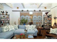 jessica simpsons livingroom | Jessica Simpson Makes Room for Baby in Osbourne Mansion