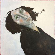 Painting portrait acrylic - Carolien de Brouwer - Dutch Art
