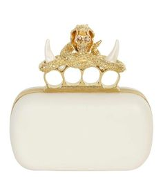Will I ever own an Alexander McQueen Knucklebox Clutch? God I Hope So - it's my life's mission!