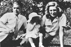Lawrence Durrell with his first wife Nancy Myers and baby Penelope. Nancy left Durrell in Alexandria, during the second world war // Photograph from Amateurs in Eden by Joanna Hodgkin