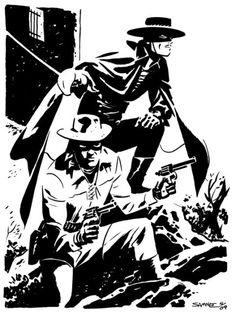 Chris Samnee: Zorro & Lone Ranger