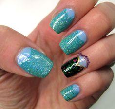 Disney Frozen nails