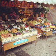 Fruit stand #milan2012