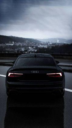 The Legend black⚫ Audi Audi A5, Audi R8 Wallpaper, Sports Car Wallpaper, Cool Wallpaper, My Dream Car, Dream Cars, Carros Audi, Black Audi, Black Cars
