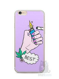 Capa Iphone 6/S Plus Melhores Amigos Fumando