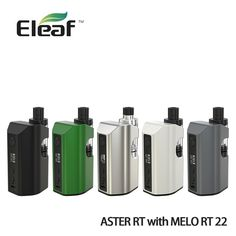 (56.23$)  Know more - http://ai2c6.worlditems.win/all/product.php?id=32805339368 - Original Eleaf Aster RT With Melo RT 22 Kit 100W E-cigarette 4400mah Battery Mod Vape Kit 3.8ml Melo RT 22 Tank Aster RT