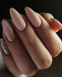 Looking for the best nude nail designs? Here is my list of best nude nails for your inspiration. Check out these perfect nude acrylic nails! Manicure Nail Designs, Nail Manicure, Prom Nails, My Nails, Polish Nails, Matte Nails, Pointy Nails, Ongles Beiges, Mirror Nails