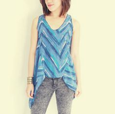 High-Low Tank Top and other free sewing patterns by Sew In Love.