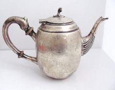Vtg Sterling Silver Peruvian FPE Teapot (564.5g)