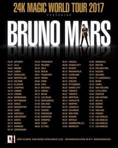 Bruno Mars Announces 2017 '24K Magic' World Tour - Rolling Stone