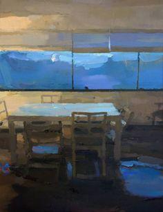 "Saatchi Art Artist: Carlos San Millan; Oil 2015 Painting ""Interior  # 116"""