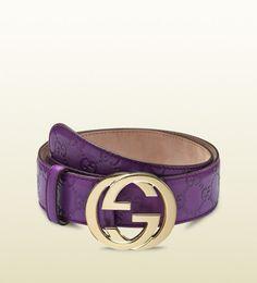 Purple Gucci | Purple Gucci Belt Gucci-purple-purple-guccissima ...