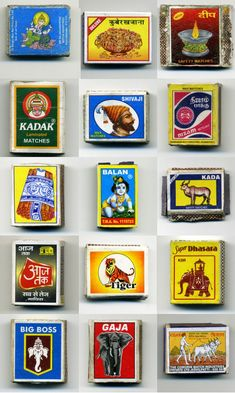 Indian Matchboxes - Art and design inspiration from around the world - CreativeRoots