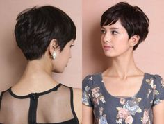 This is often amazing recommendations relating to short textured pixie hairstyles, very short layered pixie hairstyles, also other pixie haircut options. Short Pixie Haircuts, Haircuts With Bangs, Short Bob Hairstyles, Hairstyles Haircuts, Women Pixie Haircut, Bob Haircuts, Hairdos, Curly Hair Cuts, Curly Hair Styles