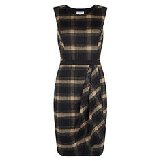 Buy Hobbs Josephine Dress, Black Camel from our Women's Dresses Offers range at John Lewis & Partners. Knee Length Dresses, Day Dresses, Casual Dresses, Dresses For Work, Workwear Dresses, Shift Dresses, Long Sleeve Mini Dress, Maxi Dress With Sleeves, Dress Long