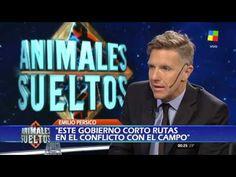 """Emilio Pérsico, con Fantino: """"El piquete es una actitud desesperada de c..."""