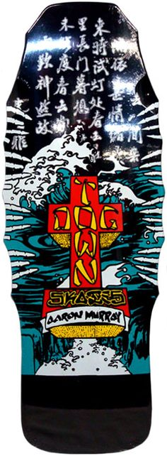 #Skateboard Dogtown - Aaron Murray Old School Signature Deck