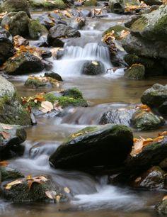 Waterfalls At Shenandoah National Park, Virginia, USA