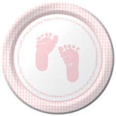 Buy Plaid Baby Girl Pink Baby Shower 7 Inch Dessert Plates Count) - and Find More Children's Baby Shower Party Supplies enjoy up to off.
