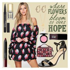 """Where flowers bloom so does HOPE"" by camry-brynn ❤ liked on Polyvore featuring Boohoo, MICHAEL Michael Kors, Fendi, MAC Cosmetics, NARS Cosmetics, Smashbox, JINsoon, Avenue, Tory Burch and Dolce&Gabbana"