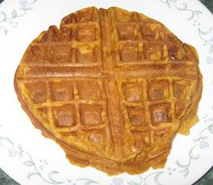 Debbi Does Dinner... Healthy & Low Calorie: Spiced Pumpkin Waffles