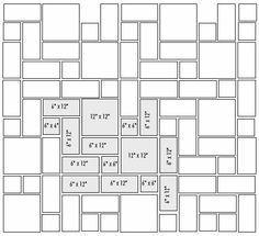 3 Tile Patterns Floor Travertine Decobizz Tile