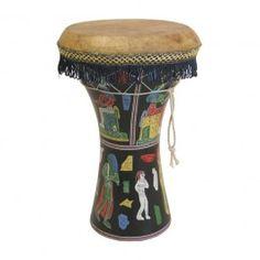 Pharaonic Wooden Doumbek, Large $64.52