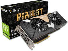 Palit GeForce RTX 2080 Ti Dual Graphics Card, 11GB GDDR6, HDMI, DP, USB-C Mighty Ape, Video Card, Bring It On, Usb, Cards, Graphics, Turin, Gaming, Platform