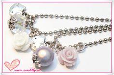 Hello Kitty kids ballchain necklaces.  Cute for flowergirls