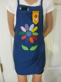 inexpensive alternative to the Daisy Girl Scout uniform (is not official)