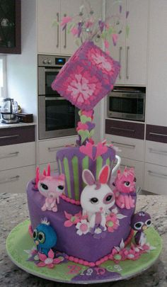 Littlest Petshop - Cake by dreamcakes4512
