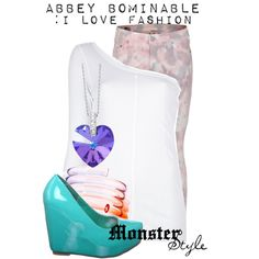 """""""Monster Style : Abbey Bominable"""" by missm26 on Polyvore"""