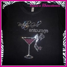 Birthday Girls Entourage Rhinestone T Shirt By ReneesRhinestones1 1999 40th Bday Ideas