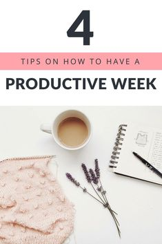 #Tips On How To Have A Productive Week. I'm so happy I found this post! I seriously didn't think I could start a week without feeling #overwhelmed or #tired by Monday afternoon! These tips have helped me create more #action and be more #focused in my #life and business #goals. I've seen some HUGE results. And I seriously LOVE starting the week with a #plan! #selflove #selfcare #lifestyle