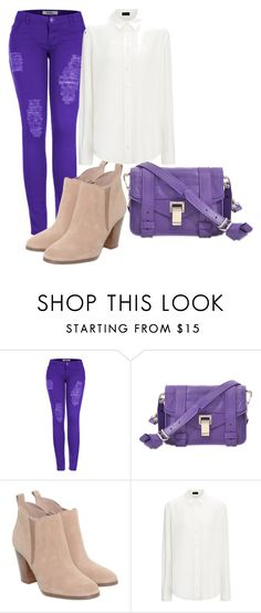 """""""vfhgujhk,"""" by v-askerova on Polyvore featuring мода, 2LUV, Proenza Schouler и Michael Kors"""
