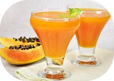 Como fazer suco de laranja lima com mamão para incluir na sua dieta para emagrecer. O mamão é diurético e antioxidante, com alto teor de fibras, saiba mais