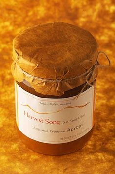 Harvest Song Gourmet 100% Natural Preserve Nasft Gold Winner 2006 Apricot Preserve,