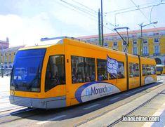 Eléctrico 15 em Lisboa Portugal