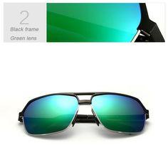 2015 New Aviator Brand Polarized Sunglasses Sports Men Driving Sun Glasses oculos de sol masculino Sunglass Wayfarer 6521 | Sunglasses - Glasses Frames - Eyeglasses