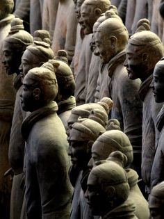 Terracotta Army #china #oneworld