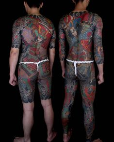 Japanese Tattoos For Men, Japanese Tattoo Art, Traditional Japanese Tattoos, Japanese Tattoo Designs, Japanese Sleeve Tattoos, Full Body Tattoo, Body Tattoos, Irezumi Tattoos, Tattoo Magazines