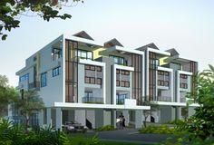 semi detached house singapore - Penelusuran Google Semi Detached, Detached House, Town House, Singapore, Multi Story Building, Mansions, House Styles, Google, Home Decor